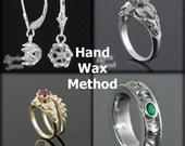 How Your Handmade Ring is Created using the HandCarved Wax Method - Custom Handmade Jewelry to Order - Use as your down payment