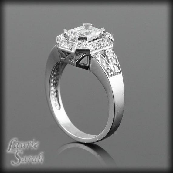 Emerald Cut Engagement Ring 1 5 Carat Emerald Cut Diamond