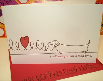 Long Love - letterpress love greeting