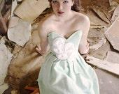 SALE Rosette Dress, Mint