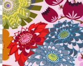 Loulouthi Fabric - Summer Totem in Grapefruit - Anna Maria Horner Fabric - 1 yard