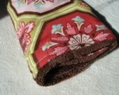 Minky Plush Blankie with Michael Miller Flannel