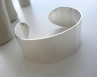 Minimalist Sterling Silver Cuff