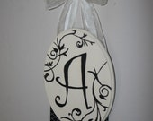 Hairclip Holder Personalized with Initial of Your Choice