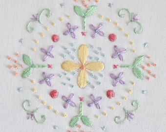 Mandala Embroidery Collection 5