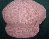 Newsboy cap (baker's boy hat) KNITTING pattern