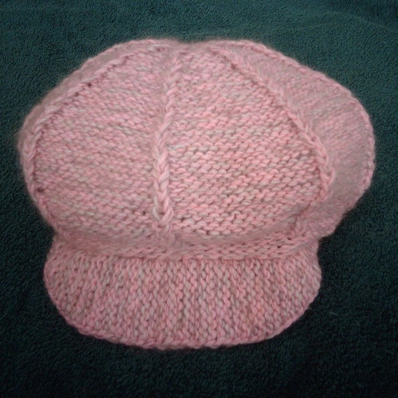Newsboy cap bakers boy hat KNITTING pattern
