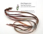 4 mm Hand-Dyed Silk Ribbon - Perplexed