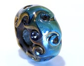 Celtic Waves Focal Bead