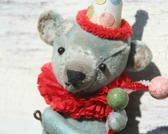 SOLD SOLD SOLD Shadow Box-Circus Bear. Item Sold