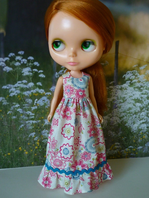 Boho Maxi Dress for Blythe           Raspberry