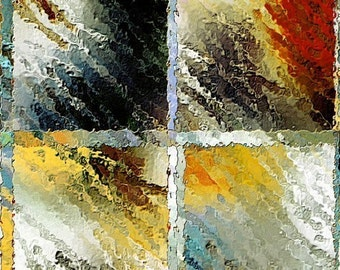 Window Rain (C) (Ready to frame Fine Art Print)