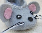 Mouse Baby Slippers