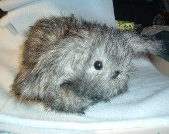 Mini Lop Eared Bunny Rabbit Stuffed Animal Pattern to Sew Instant Download