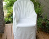 Slipcover Pattern, Furniture,  Resin Chair, High Back
