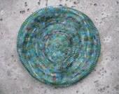 Edam Beret - Hand Painted Wool