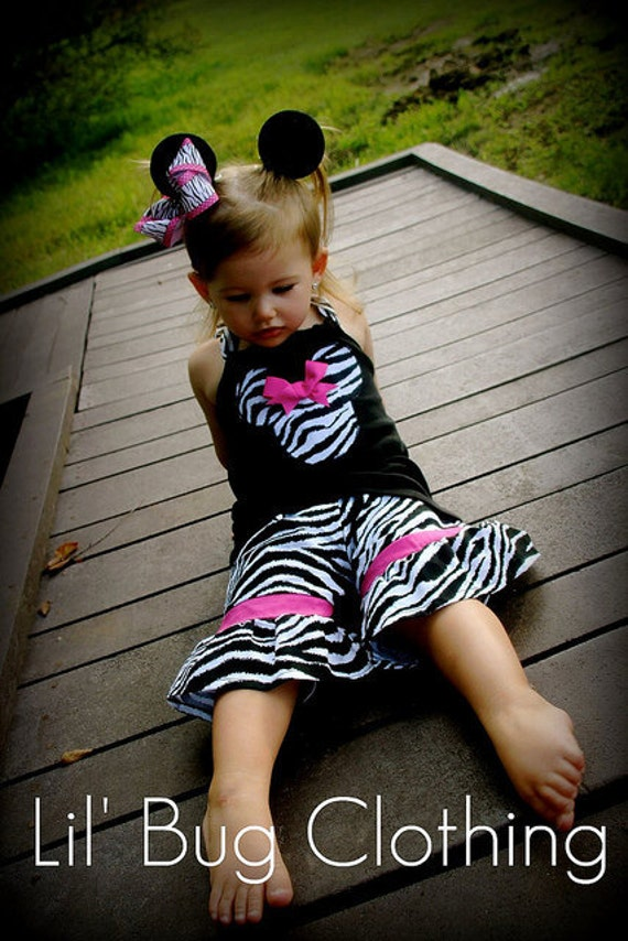 Minnie Mouse Girl Outfit, Minnie Mouse Animal Kingdom Outfit, Minnie Mouse Short Halter Tee Outfit, Minnie Mouse Birthday Girl Outfit,