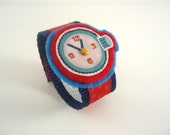 Its Almost Time - Red and Blue - Little Boys Pretend Watch