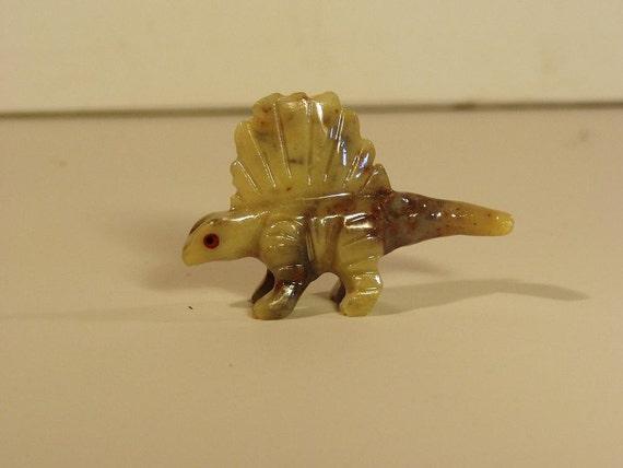 Mini Prehistoric Lizard Carving from Jasper