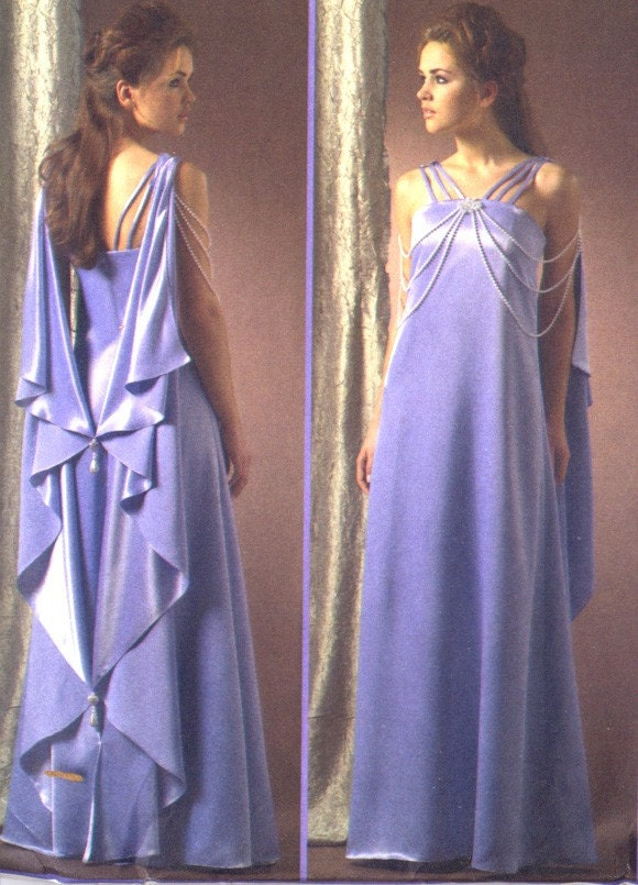 Star Wars Queen Padme Amidala Night Gown Costume Pattern Size