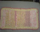 Crochet Rug Pretty in Pink (A)