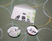 Cute little magnets make cute little gifts - OOPS Hoo Hoo