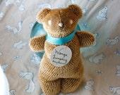 Lumpling - Wonga the wonky mohair bear