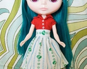 Girl Scout high-waisted skirt for Blythe