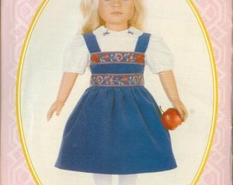 Doll Clothes Pattern Vogue Patterns 821 OOP Special Edition American Girl 18 inch UNCUT