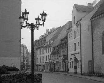 Quite Street Riga - Original Signed Fine Art Photograph