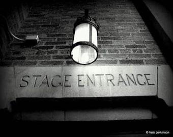 Stage Entrance - Original Signed Fine Art Photography