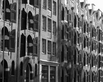 Amsterdam Windows - Original Signed Fine Art Photograph