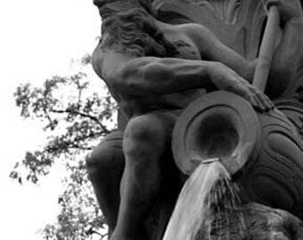 Frankfurt Fountain - Original Signed Fine Art Photograph