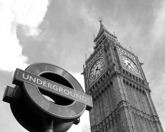 Under Big Ben - Original Signed Fine Art Photograph
