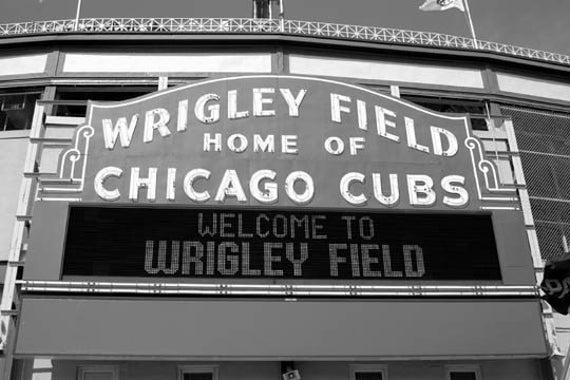 Wrigley Field - Original Signed Fine Art Photograph