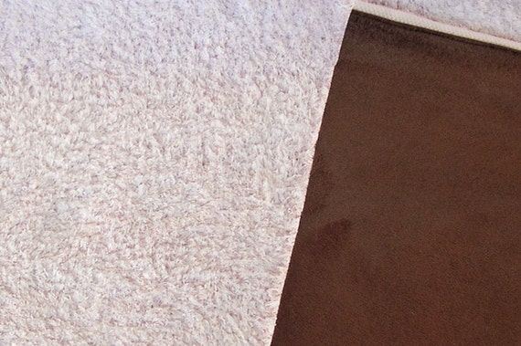 Minky Sherpa Suede Double Sided Fabric By The Yard