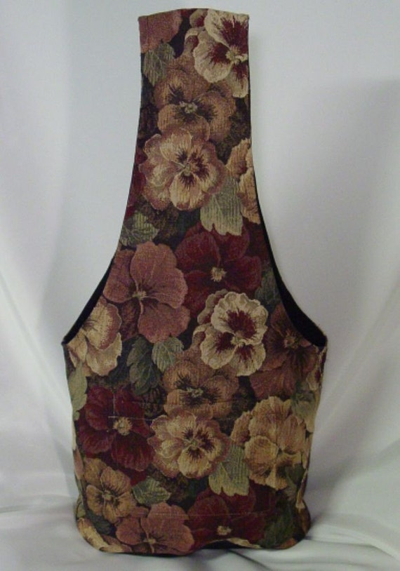 Pansies Market Bag