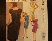 McCall's Uncut Easy Dress Pattern