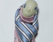 figurative ceramic porcelain hook