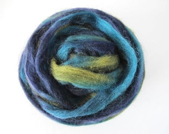 Forest Glade Wool Top 1oz (Northern Lights/Louet)
