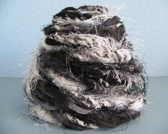 Craft Fiber Collection - Black and White Tones
