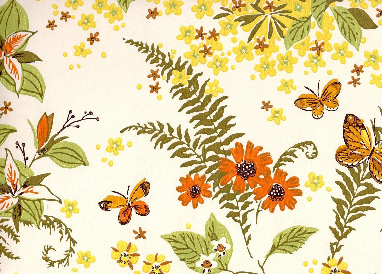 Reservedbotanical Wallpaper Birds Floral