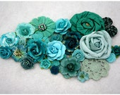 More Teal Squeal - Floral Assortment
