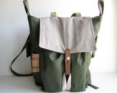 Backpack for Settlers and Sophisticated Bohemian that converts to Messenger Satchel