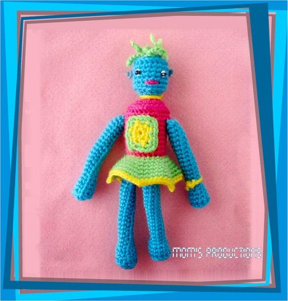 Amigurumi Doll Robot - Robotina