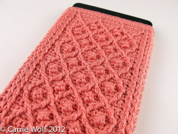 Crochet Pattern Kindle Fire Cover Summer and by ...