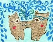 Bear, You're the One 5x7 Fine Art Print