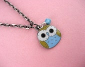 Boy Meets Girl Owl Necklace