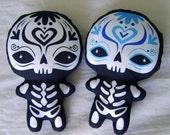 Muertos Sugar Skull Plush - Collectors Bundle