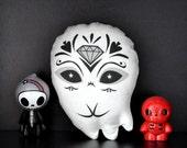 Sugar Skull Toy - Day of the Dead toy - Dia de los Muertos plush
